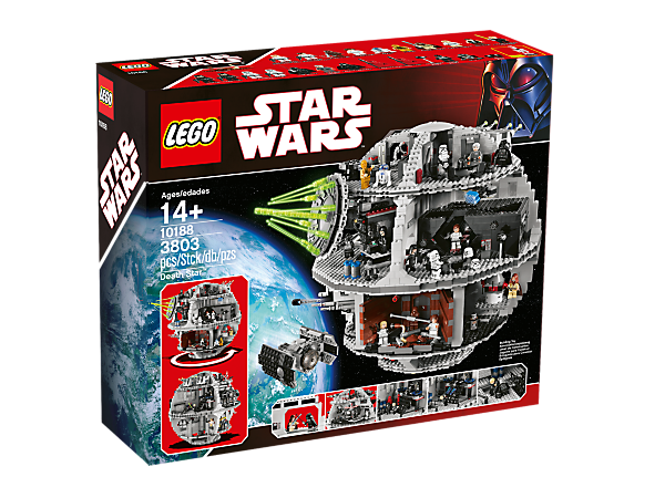 Death Star 10188 Star Wars Lego Shop