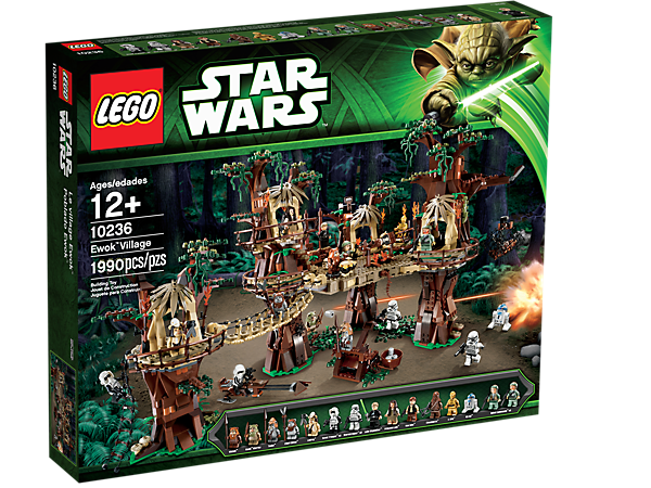 Ewok™ Village - 10236 | Star Wars™ | LEGO Shop