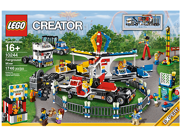 Fairground Mixer - 10244 | Creator 3-in-1 | LEGO Shop