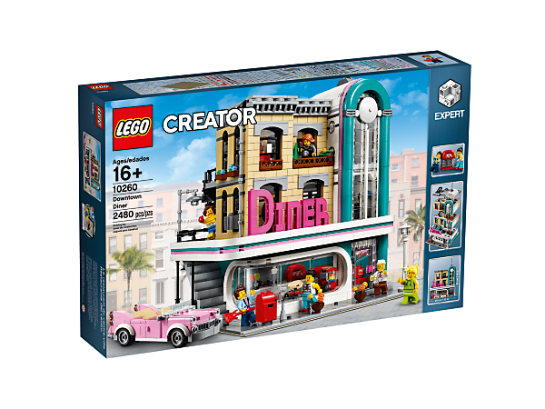 Downtown Diner - 10260 | Creator Expert | LEGO Shop