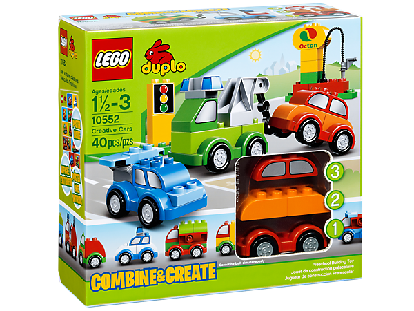 Creative Cars 10552 Duplo Lego Shop