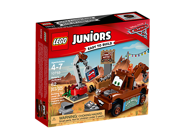 Maters Junkyard 10733 Juniors Lego Shop