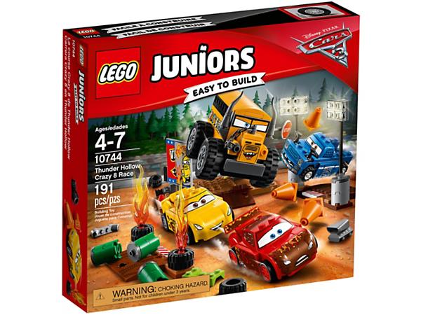 Thunder Hollow Crazy 8 Race - 10744 | Juniors | LEGO Shop