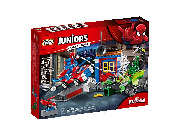 Spider Man Vs Scorpion Street Showdown 10754 Juniors Lego Shop