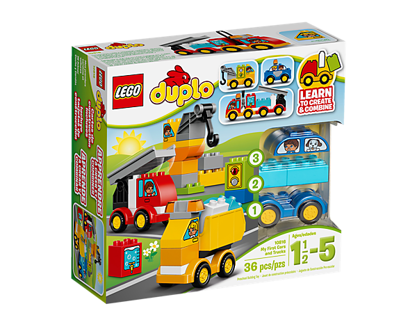 My First Cars And Trucks 10816 Duplo Lego Shop