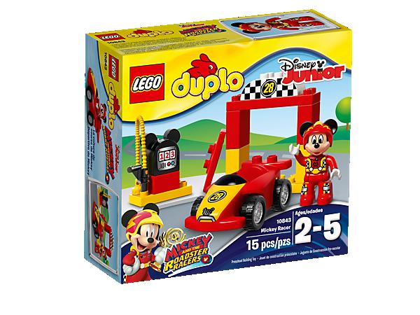 Mickey Racer - 10843 | DUPLO® | LEGO Shop