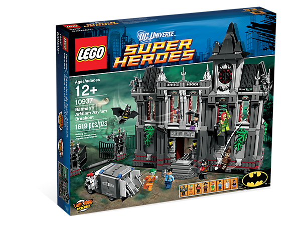 Batman Arkham Asylum Breakout 10937 Dc Comics Super Heroes