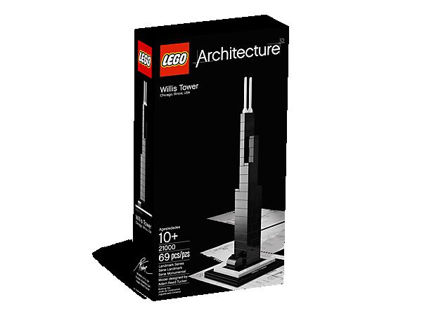 Willis Tower 21000 Architecture Lego Shop