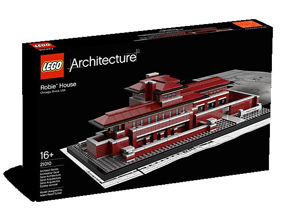 Architecture House Model robie™ house - 21010 | architecture | lego shop