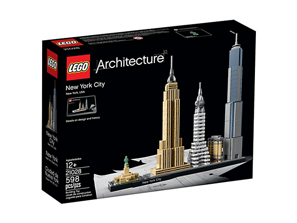 New York City - 21028 | Architecture | LEGO Shop