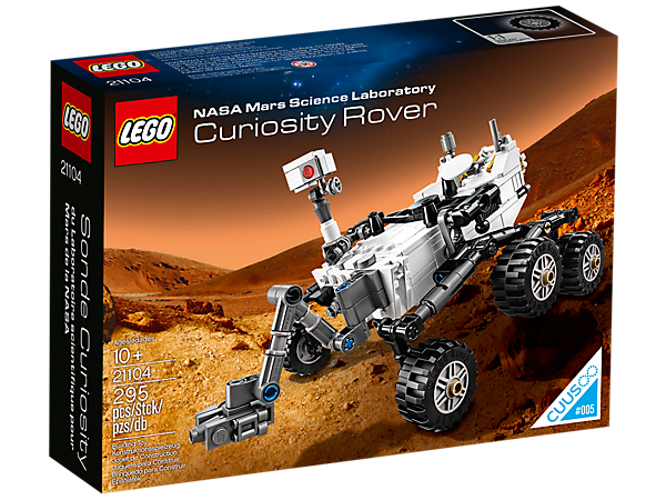 Nasa Mars Science Laboratory Curiosity Rover 21104 Ideas Lego Shop
