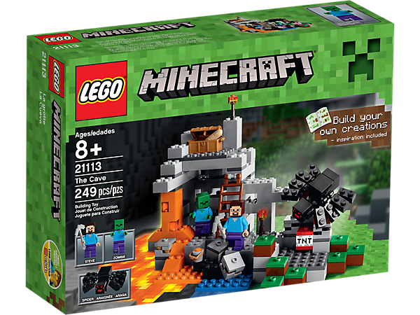 The Cave - 21113 | Minecraft™ | LEGO Shop