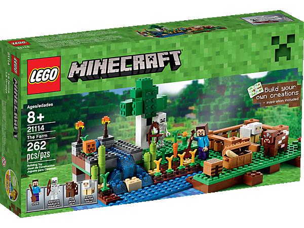 The Farm - 21114 | Minecraft™ | LEGO Shop