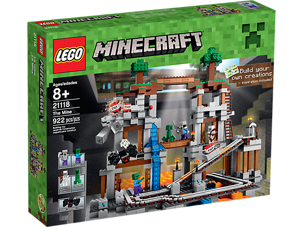 The Mine - 21118 | Minecraft™ | LEGO Shop