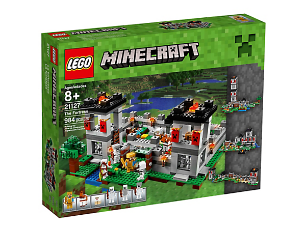 The Fortress 21127 Minecraft Lego Shop
