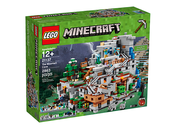 The Mountain Cave - 21137 | Minecraft™ | LEGO Shop