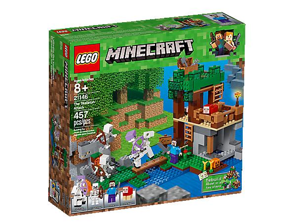 The Skeleton Attack 21146 Minecraft Lego Shop
