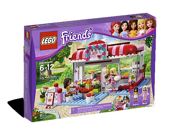 City Park Caf 3061 Friends Lego Shop
