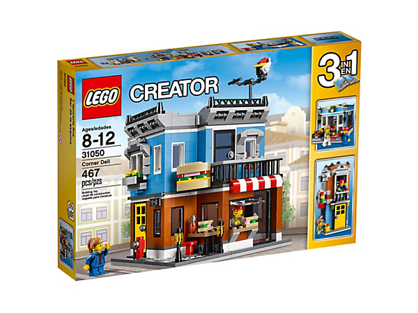 Corner Deli - 31050 | Creator 3-in-1 | LEGO Shop
