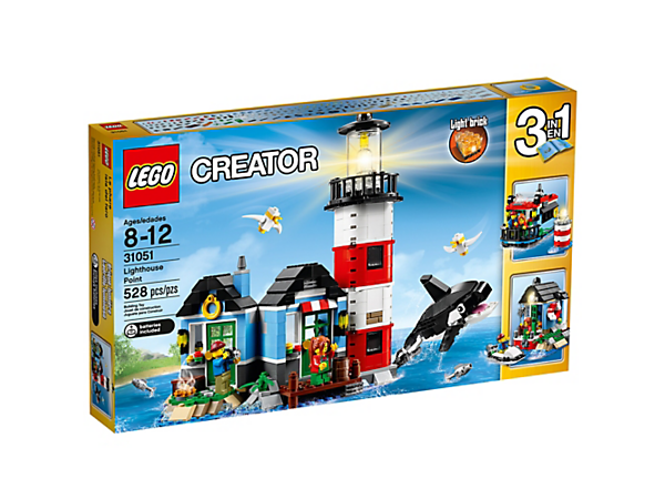 Lighthouse Point - 31051 | LEGO® Creator 3-in-1 | LEGO Shop