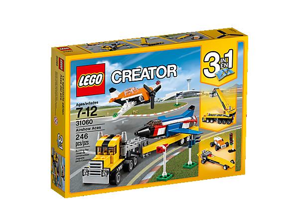 Airshow Aces 31060 Creator 3 In 1 Lego Shop