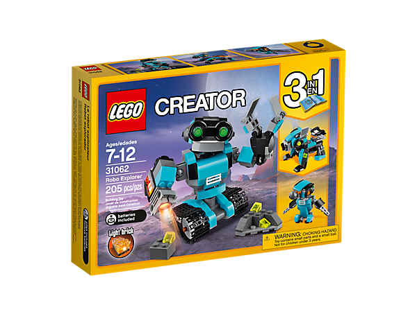 Robo Explorer - 31062 | Creator 3-in-1 | LEGO Shop