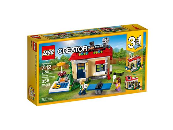 Modular Poolside Holiday - 31067 | Creator 3-in-1 | LEGO Shop