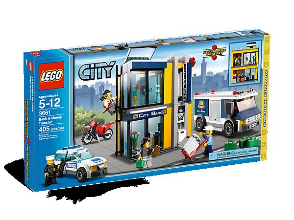 Bank Money Transfer 3661 City Lego Shop