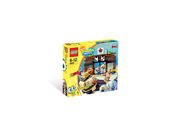Krusty Krab Adventures 3833 Lego Shop