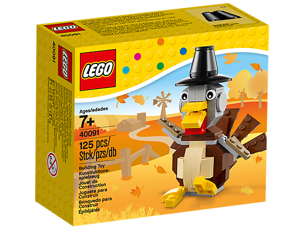 Thanksgiving Turkey 40091 Lego Shop