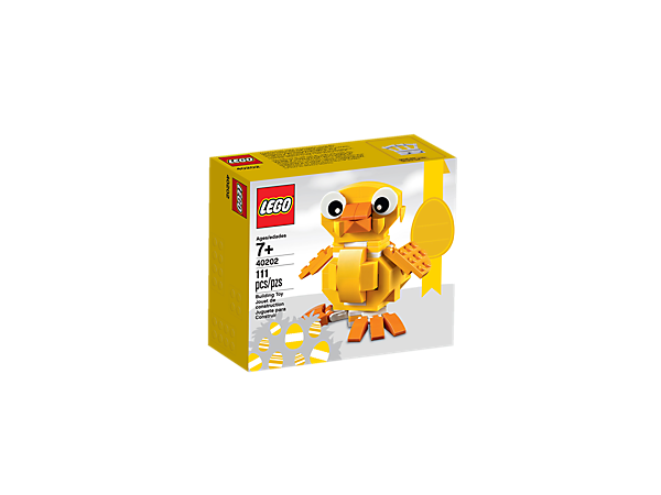 Lego easter chick 40202 lego shop add colorful lego fun to your easter celebrations with this buildable easter chick featuring negle Choice Image