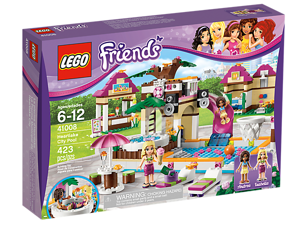 Heartlake City Pool 41008 Friends Lego Shop