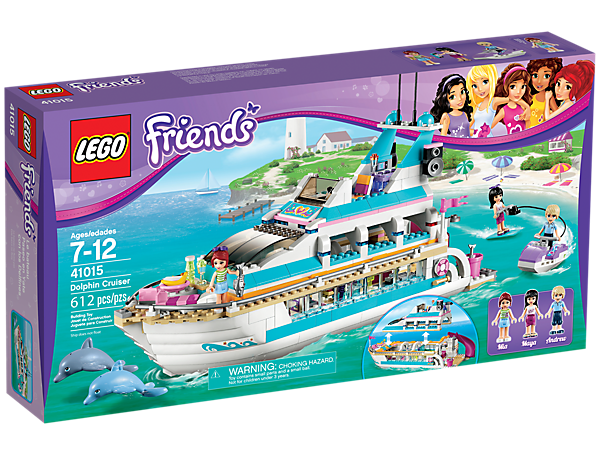 bateau lego friends