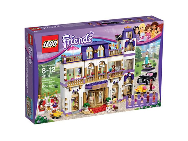 Heartlake Grand Hotel - 41101 | Friends | LEGO Shop