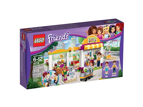 Heartlake Supermarket 41118 Friends Lego Shop