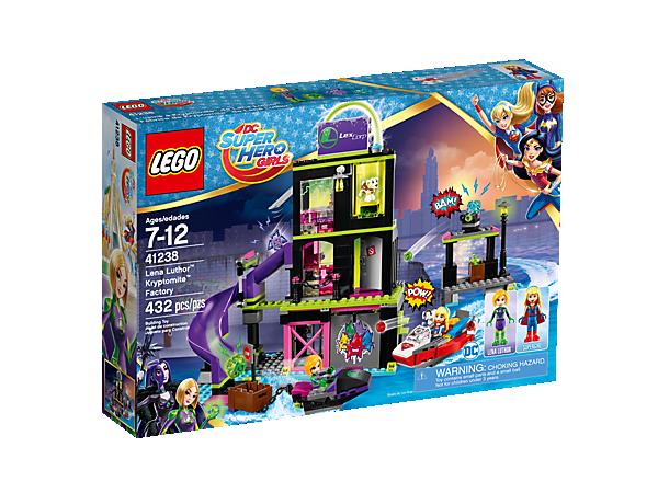 Lena Luthor™ Kryptomite™ Factory - 41238   DC Super Hero Girls ...