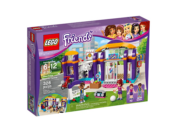 Heartlake Sports Center - 41312 | Friends | LEGO Shop