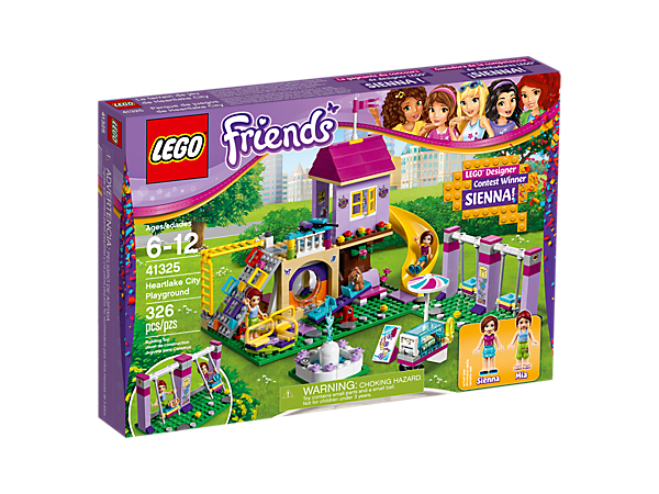 Heartlake City Playground - 41325 | Friends | LEGO Shop