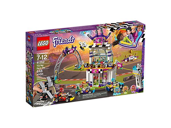 The Big Race Day 41352 Friends Lego Shop
