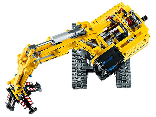 Review of Technic Excavator 42006 | BrickHamster
