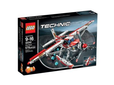 Explore product details and fan reviews for Fire Plane 42040 from Technic. Buy today with The Official LEGO® Shop Guarantee.