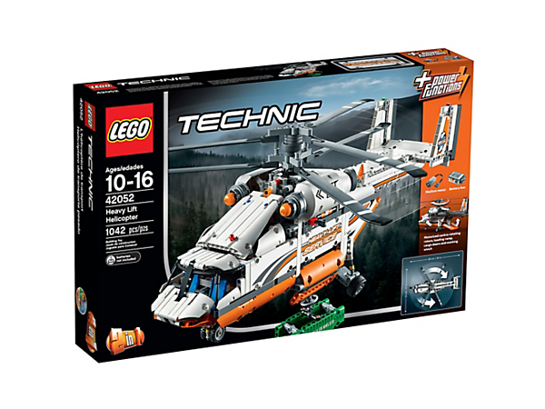 Explore product details and fan reviews for Heavy Lift Helicopter 42052  from Technic. Buy today