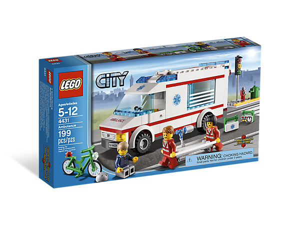Ambulance 4431 City Lego Shop