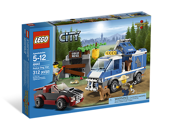 Police Dog Van 4441 City Lego Shop