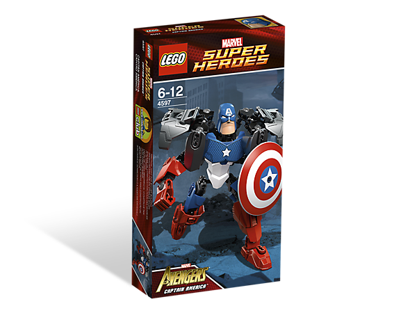 Captain America™ - 4597 | Marvel Super Heroes | LEGO Shop
