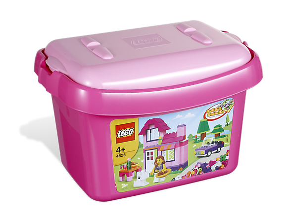 Get Building In Pretty Pink Style With A LEGO® Brick Bucket Full Of Fun  Elements