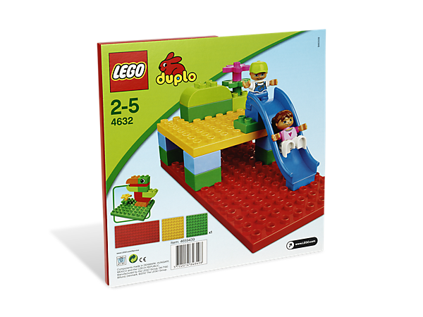 Start all of your LEGO® DUPLO® creations on the right foundation with 3 brightly  sc 1 st  LEGO Shop & Building Plates - 4632 | DUPLO® | LEGO Shop