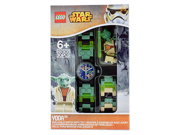 tell time with the force - Lego Yoda