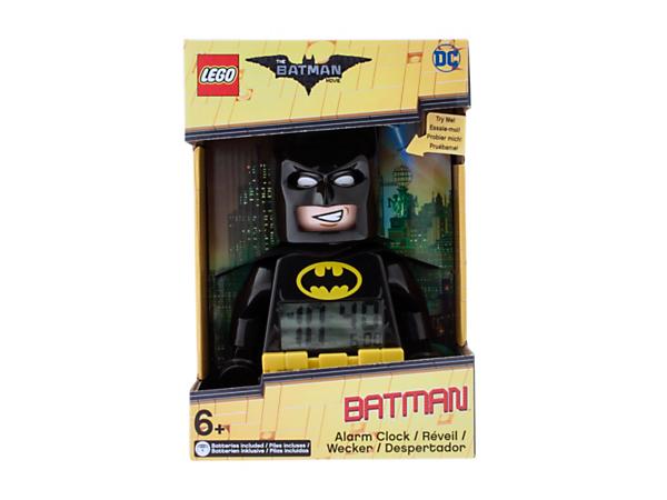 THE LEGO® BATMAN MOVIE Batman™ Minifigure Alarm Clock - 5005222 ...