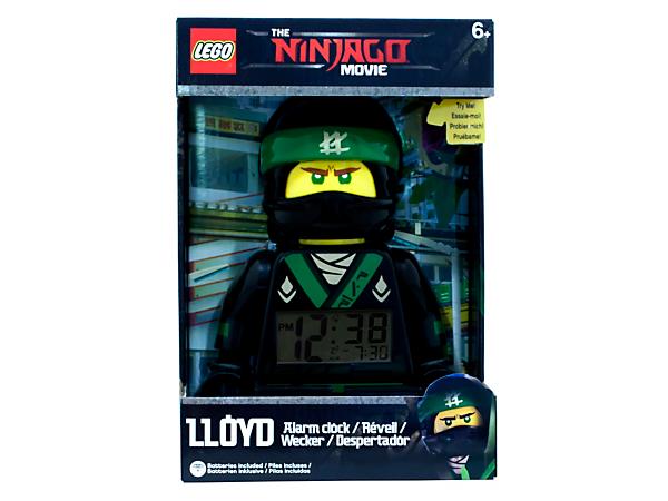 the lego ninjago movie lloyd minifigure alarm clock 5005368